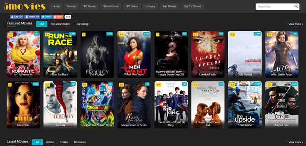 5Movies is best Streaming Websites Like PrimeWire.