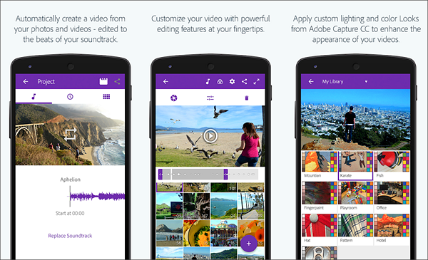 Adobe Premiere Clip is one of the best Free Video Editing Apps for Android.