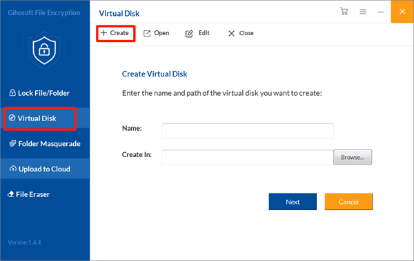Create Virtual Disk to Encrypt Photos Before Uploading to Cloud.