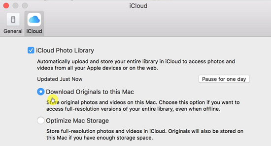 How to Restore Photos to PC from iCloud Photos Library