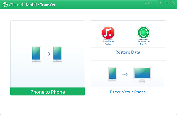 Gihosoft Mobile Transfer software