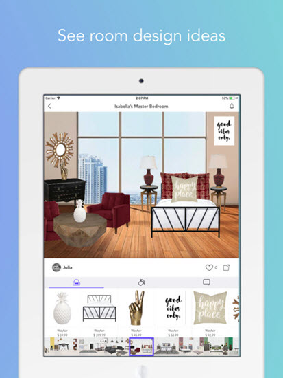 Decorator - Design Real Homes is one of the Top Interior Designing Apps for iPad.