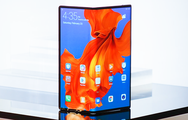 Huawei Mate X is 5G Mobile Phones.