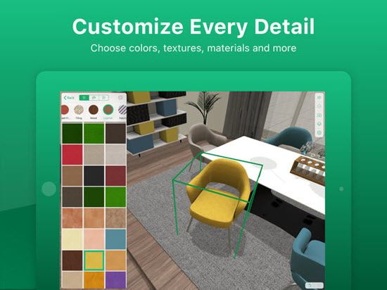 Planner 5D Home Interior is one of the Top Interior Designing Apps for iPad.