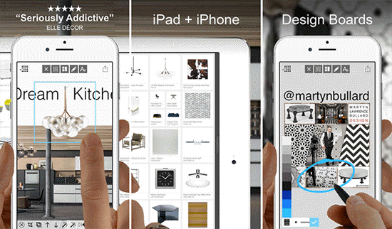 Morpholio Board - Moodboard is one of the Top Interior Designing Apps for iPad.