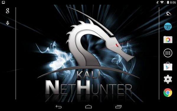 Kali Linux Nethunter is one of the best Free WiFi Password Hacker Apps for Android.