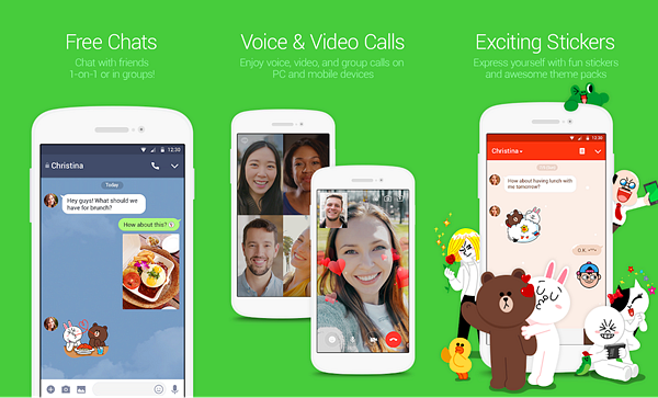 LINE is one of the Best Calling Apps for Android.