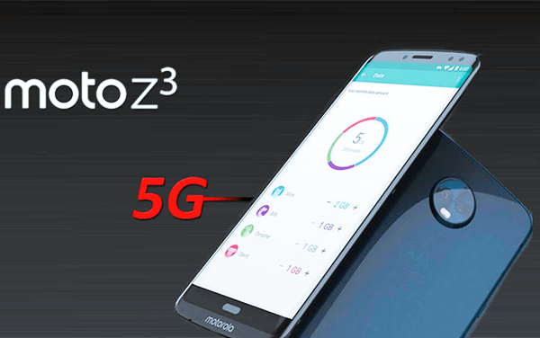 Motorola Z3 is 5G Mobile Phones.