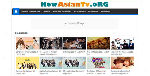 NewAsianTv is one of best Websites to free Download Korean Drama.