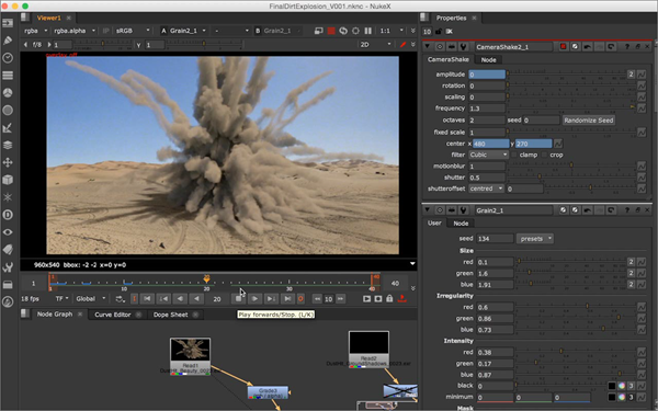 NUKE is one of the Top Best After Effects Alternative Software.