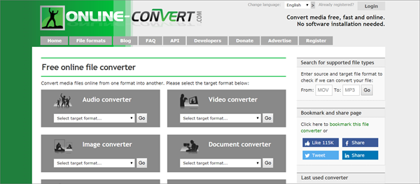 Online Converter is one of the best KeepVid Alternative Websites to Download Videos.