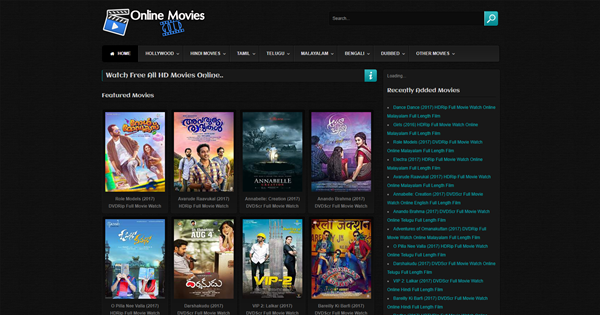 Online Movies Gold is one of the top best Alternative Websites to TamilGun in 2019.