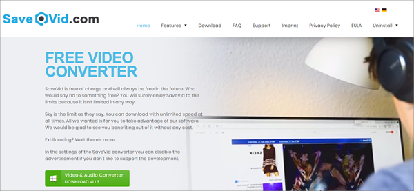 SaveVid is one of the best KeepVid Alternative Websites to Download Videos.
