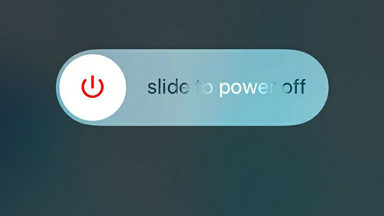 Slide to Power off Fix iPhone or iPad Home Button Not Working.