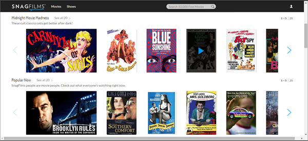 SnagFilms is best Streaming Websites Like PrimeWire.