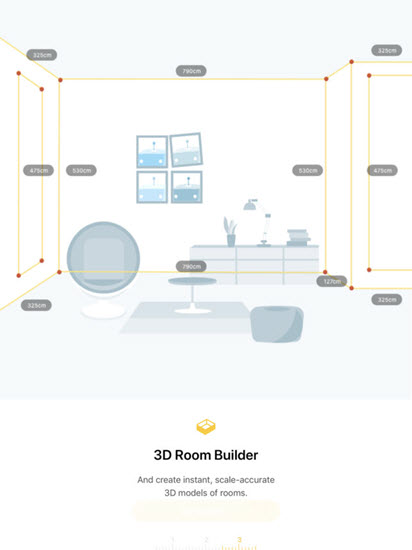 TapMeasure – AR utility is one of the Top Interior Designing Apps for iPad.
