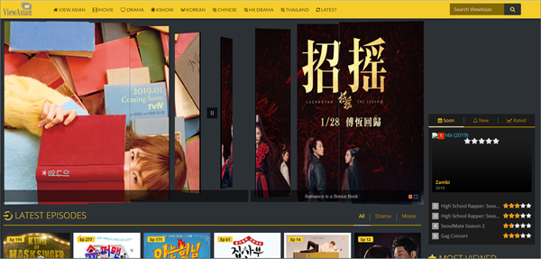 ViewAsian is one of best Websites to free Download Korean Drama.