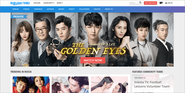 The first name which comes in mind when we look for the best websites providing Korean dramas is Viki.
