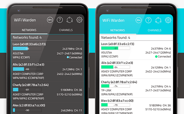 WiFi Warden is one of the best Free WiFi Password Hacker Apps for Android.