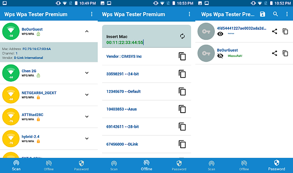WiFi WPS WPA Tester is one of the best Free WiFi Password Hacker Apps for Android.