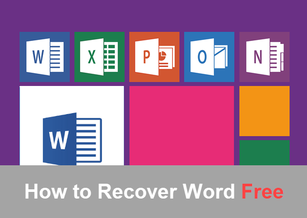 Word Document Recovery software.