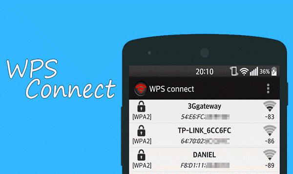 WPS Connect is one of the best Free WiFi Password Hacker Apps for Android.