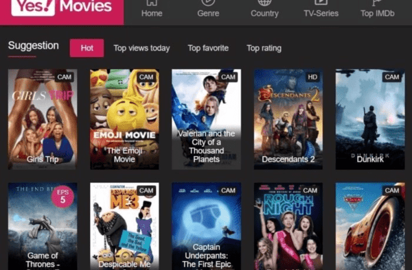 YesMovies is yet another very popular choice as a free online streaming website for the users in place of fmovies.