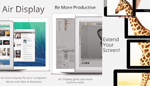 Air Display 2 is one of the best Free Second Screen and Dual Monitor Apps for Android.