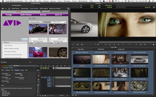 Avid Media Composure is one of the top best Video Editing Software.
