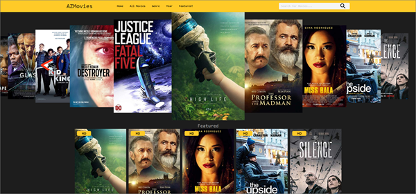AZMovies is one of the top best Project Free TV Alternative Websites for Free Video Streaming.