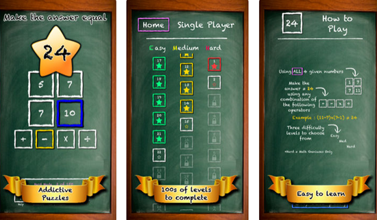 Fun Math is one of the best Math Apps for Kids in iPhone and iPad.