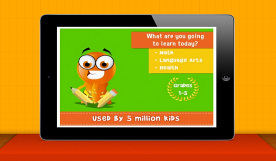 iTooch Elementary School is one of the best Math Apps for Kids in iPhone and iPad.