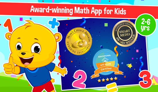 Kindergarten Cool Math Games is one of the best Math Apps for Kids in iPhone and iPad.