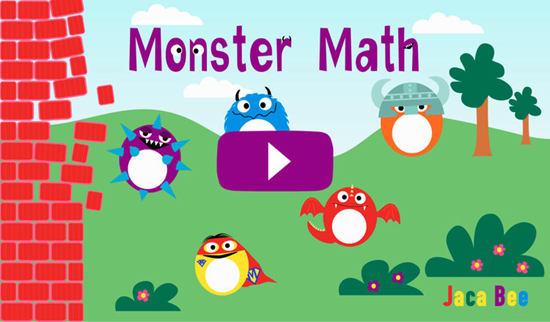 Monster Maths is one of the best Math Apps for Kids in iPhone and iPad.