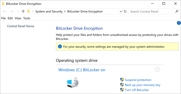 BitLocker is one of the top Best Free File Encryption Software.