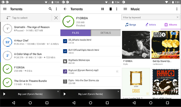 BitTorrent is one of the best Torrent Apps and Downloaders for Android.