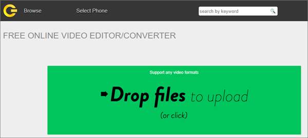 cellsea-free online video editor converter