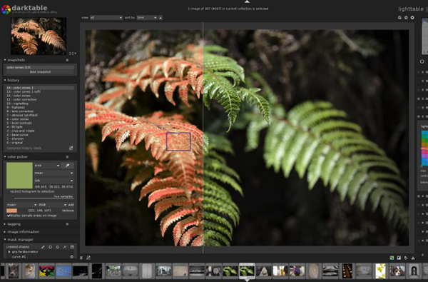DarkTable is one of the top alternatives to Adobe Lightroom.