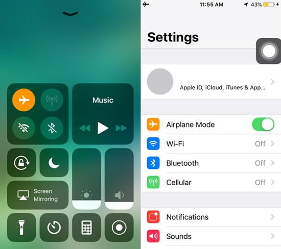 when to use airplane mode on iphone