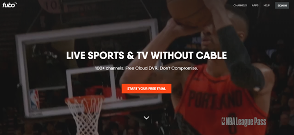 fuboTV is one of the top best Websites Like VipBox to Watch Sports Stuff.