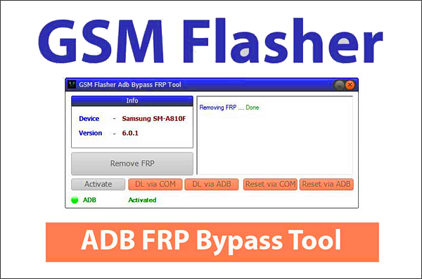 GSM Flasher ADB Bypass FRP Tool is one of the top FRP Bypass APKs for Android.