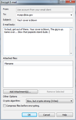 How to Lock Email by Using MEO Encryption?