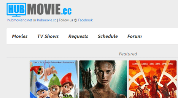 HubMovie is another very great choice for the users as a free online streaming website