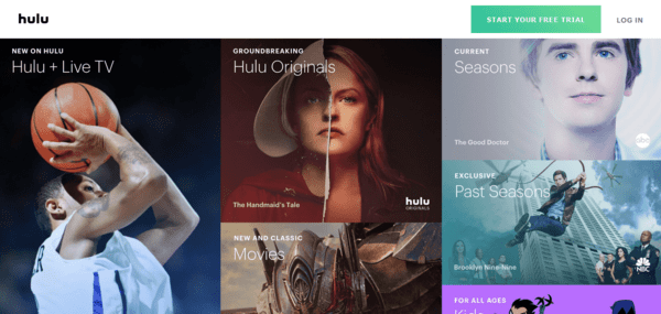 Hulu is one of the best alternatives to GoMovies.