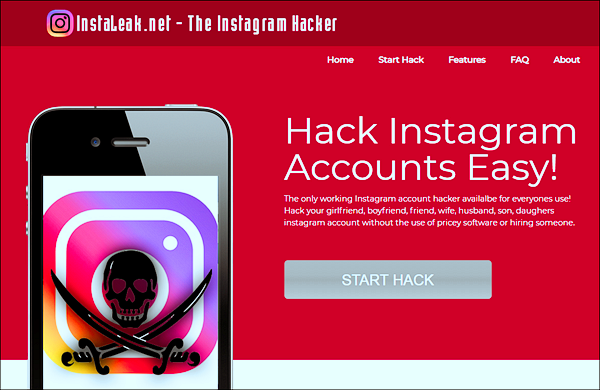 Use Instaleak for Instant Password Recovery
