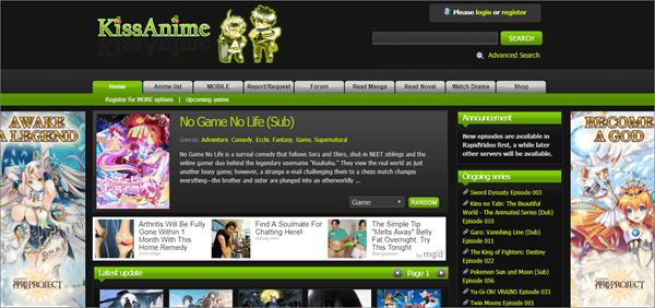 Best KissAnime Alternative Websites.