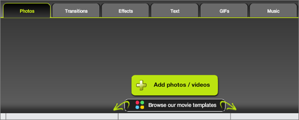 kizoa-online movie maker & video editor