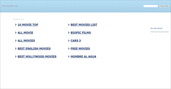 Movies Den is one of the best Websites to Download Bollywood Movies Online for Free.
