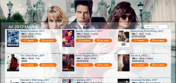 Niter Movies is one of the bop best Alternatives to 123Movies for You.