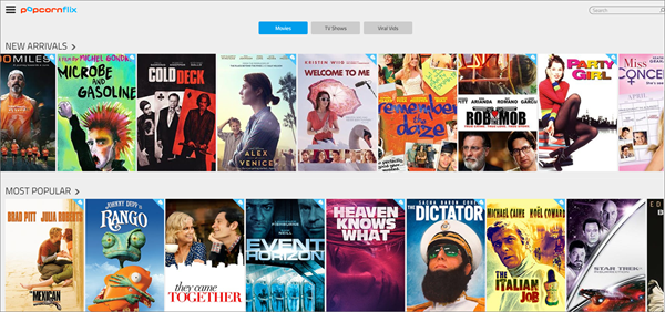 Popcornflix is one of the top best Project Free TV Alternative Websites for Free Video Streaming.